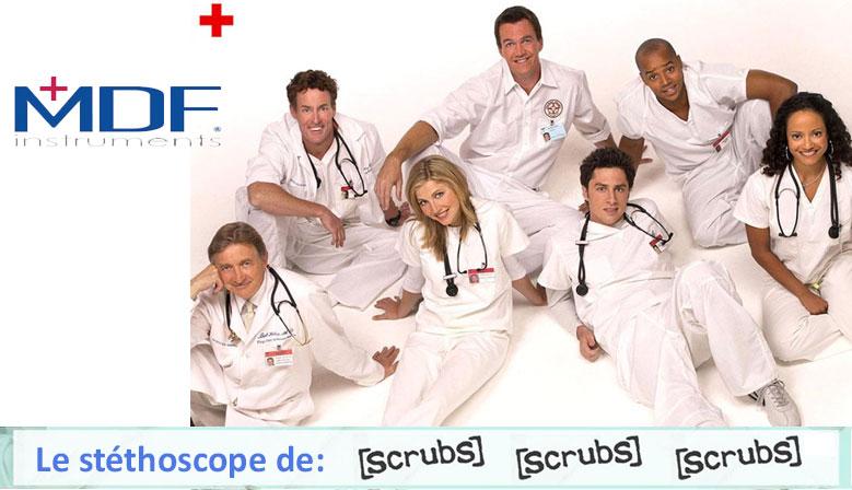 Stéthoscope Scrubs
